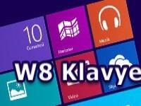 Windows 8 Kısayol Tuşları