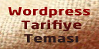 Wordpress Yemek Teması